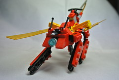 "Invader: ""Hellhound"" (CasvalStrider) Tags: lego mecha mfz mobileframezero"