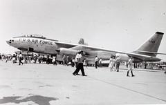 Boeing B-47B Stratojet (San Diego Air & Space Museum Archives) Tags: airplane aircraft aviation boeing ge bomber usaf usairforce militaryaviation generalelectric unitedstatesairforce b47 stratojet 50003 boeingb47stratojet j47 boeingb47 b47stratojet b47b boeingstratojet generalelectricj47 gej47 b47bstratojet boeingb47bstratojet usaf50003 boeingb47b
