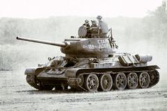 T-34 Action (BigBlockAgency) Tags: wwii tanks folkestone armouredvehicles warpeaceshow