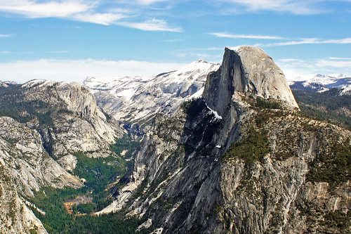 california usa mountains view nevada sierra yosemite halfdome glacierpoint libertycap tenayacanyon littleyosemitevalley