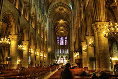 Let there be light (frisch-luft.ch) Tags: paris france church cathedral christian hdr photomatix canon600d