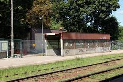Platform entrance , Kościan train station 26.08.2013 (szogun000) Tags: railroad station canon tracks entrance poland polska rail railway access platforms pkp wielkopolska wielkopolskie greaterpoland kościan canoneos550d canonefs18135mmf3556is d29271 d29366 d29376