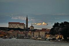 Piran (selecshine) Tags: sea water boat ship slovenia piran slovenija