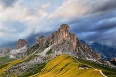 Gruppo del Nuvolau/Nuvolau Group (Corsaro078) Tags: sunset sky mountain clouds landscape tramonto nuvole cielo montagna paesaggio nuvolau passogiau lagusela