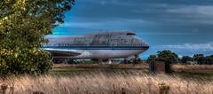 Ghost Flight (Nigel Jones QGPP) Tags: graveyard airplane airport boeing747 jumbojet obsolete spareparts manston mygearandme