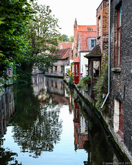 20130904 5DIII Europe Trip1212 (James Scott S) Tags: street city trip vacation tourism architecture canon reflections scott square landscape photography james town canal europe cityscape belgium euro candid brugge scenic s tourist westvlaanderen rivers handheld l bruges ef 1740 5diii