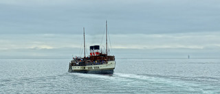 Waverley - heading out from Bournemouth Pier!