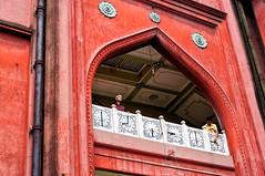 DSC_0089 (Shamim Ahmed Photos) Tags: red india boys arch muslim islam mosque kolkata prayertimes nakodamasjid