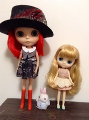 Blythe a day October- mad hatter