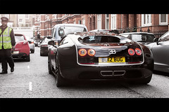 Special Edition | Bugatti Veyron EB 16.4 Supersport Sang Noir (- Icy J -) Tags: world uk black france london sport volkswagen french blood noir unique rear super harrods knightsbridge special german record 164 edition bugatti sang powerful rare mph supercar fastest matte eb oneoff w16 exhausts 257 veyron supersport twotone 267 1184 worldcars bu12bug 1184bhp