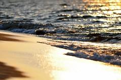 memories... (eggii) Tags: sunset sea sun beach nikon bokeh walk memories balticsea minimalism d90 nikond90 nikkor55300 vision:text=0558
