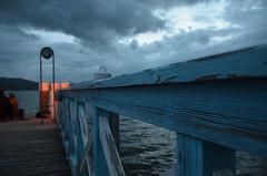 jetty (LightLux) Tags: lake weather austria jetty gray carinthia base steg klagenfurt wrthersee