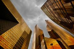 Gold (AO-photos) Tags: paris building architecture gold ladéfense