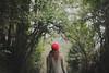 Wondering (L e t i) Tags: autumn red portrait woman wonder magic fairy linda lv explored nikond700 letiziamaccarini landvphotography wwwlandvphotographyit