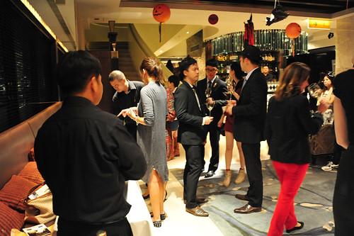 Private Sweet Wine Tasting - Azure Restaurant Slash Bar - 30/10/2013