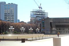 IMG_5665 (kz1000ps) Tags: tower boston architecture campus real concrete construction estate im massachusetts center science christian dormitory development pei backbay beton brutalist csc copleysquare northeastern brut grandmarc
