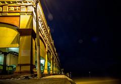 Mercado Municipal a las orillas de Lorica (alejocock) Tags: costa night noche town arquitectura pueblo colonial cordoba casas nocturno espacios republicano riosinu santacruzdeloricalorica