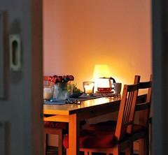 Abend (!Claro) Tags: light berlin lamp night evening abend lampe licht room abendstimmung