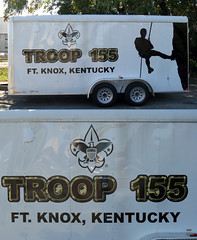 Trailer Graphics and Design | Signarama Dixie, KY | Fort Knox Troop 155