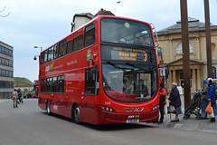 Go-Ahead Oxford Bus Volvo B5LH 369.Y25OXF - Oxford (dwb transport photos) Tags: bus volvo oxford hybrid decker 369 goaheadoxford y25oxf