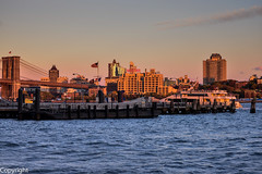 Brooklyn at  sunset (slimjim340) Tags: sunset newyork brooklyn ship