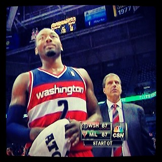 Game 15 #WittmanFace: 'Surviving against the weak is nice, but how will you compete against the dominant?' #wizards