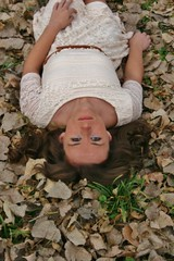 Autumn Leaves (PhotoAmateur1) Tags: she lighting autumn portrait people favorite woman brown white hot cute green art fall nature girl beautiful beauty face leaves fashion lady female canon pose hair fun skinny outside nice model eyes colorful long flickr pretty dress photoshoot arms adult emotion sweet body head expression top feminine background gorgeous femme country curves great profile creative young cream picture style babe lips her attractive stunning chic brunette lovely elegant goodlooking magnificent slender stylish laying glamorous beautyshoots