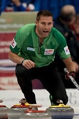 John Morris (seasonofchampions) Tags: john tim winnipeg rings morris olympic olympics skip roar mb trials hortons curling 2013