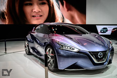 Nissan Friend-ME Concept makings its appearance at Thailand after Shanghai and Frankfurt