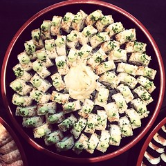 Nam #sushi #sushibarwine #prawnmousse