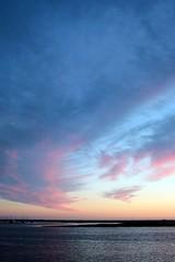 sunset in Faro (blind.willow) Tags: ocean sunset summer sun portugal faro algarve portugalia