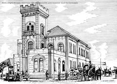 Porto Alegre Estação ferroviária 1898-1969 Demolida para construir túnel da Conceição