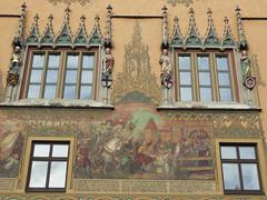 Ulm - Rathaus (Mairie) (L'oeil de Thomas) Tags: deutschland allemagne ulm