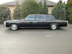 1984 Cadillac Fleetwood Formal Limousine 9 (arnowahl) Tags: black formal cadillac 1984 arno limousine v8 caddy fleetwood wahl