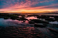 Seahouses Sunrise - Tuesday 3rd December (Squady) Tags: sea sky seascape beach clouds sunrise northumberland northumbria cloudporn skyporn