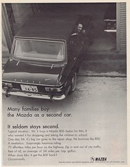 Mazda 1966 (Runabout63) Tags: advert mazda