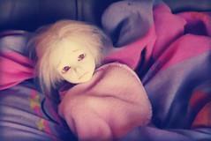 Cold (Tales of Karen) Tags: white ball asian doll skin bjd resin abjd riz msd jointed 43cm planetdoll
