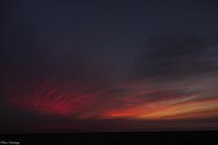 Red Clouds (rhansantiago) Tags: beach zeiss landscape losangeles manhattan sony cybershot socal southerncalifornia southbay soe carlzeiss manhattanbeachpier redclouds rx100 socalsunset