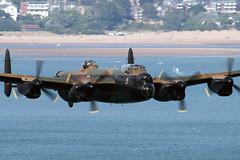Avro Lancaster BI PA474. (Malcolm R Lee) Tags: airshow lancaster dawlish bbmf pa474 24082014