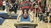 Stanford Men's Gymnastics (carlsolder) Tags: college gymnast gymnastics stanford vault backflip pac12