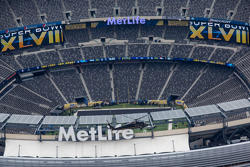 OAM Helicopter Helps Patrol over MetLife by CBP Photography, on Flickr