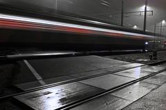 Midnight Train (Christoph Pfeilstücker) Tags: longexposure bw night speed train luxembourg xris74