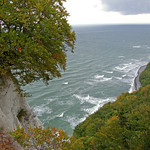 Blick von der »Viktoria-Sicht« (Rügen) auf Stubbenkammer thumbnail
