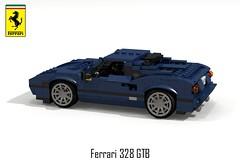 Ferrari 328 GTB Berlinetta (1986) (lego911) Tags: auto italy car model italian italia lego render ferrari 328 leonardo viva challenge v8 cad sportscar lugnuts gtb 76 povray pininfarina moc fioravanti berlinetta ldd vivaitalia transverse miniland lego911