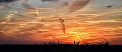 (Greg Foster Photography) Tags: city atlanta sunset sky weather skyline clouds ga georgia evening skies cityscape skyscrapers atl horizon wide wideangle