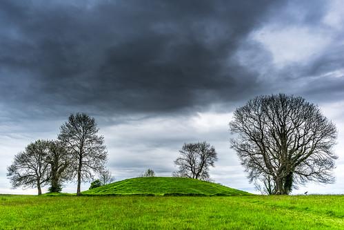 The Navan fort, Armagh, Northern Ireland