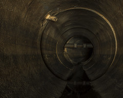 Stained (darkday.) Tags: urban water underground concrete risk pipe australian australia brisbane stained drain explore urbanexploration infiltration qld queensland aussie exploration hacking stormdrain ue urbex queenslander rcp easyentry airservices