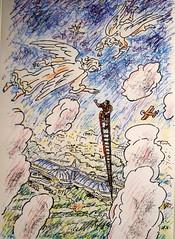 Comment rencontrer un ange (7) (Mhln) Tags: paris ange energie grand musee emilia sombre palais blanche chapelle vide manas cite ilya coupole etrange 2014 portails monumenta cosmique kabarov