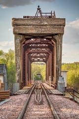 Mississippi River Bridge No. 15 (Greg Lundgren Photography) Tags: railroad bridge minnesota tracks twincities saintpaul hdr greglundgren onlyinmn