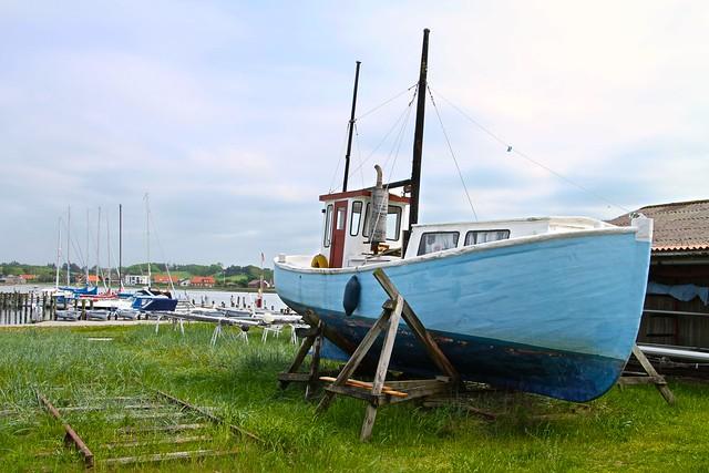 Den gamle blå båd